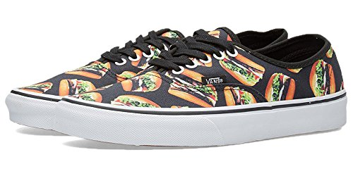 Vans Authentic Late Night Black Hamburgers hamburgers