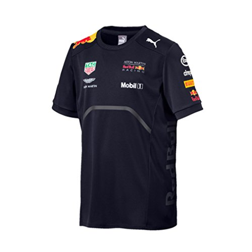 Red Bull Aston Martin Racing F1 Puma Team Niños Camiseta Azul Oficial