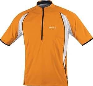Gore Running Wear Herren Shirt Air Zip, vibrant orange/black, XL, SAIRZI229910
