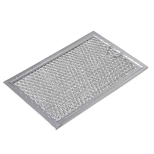 RDEXP WB06X10309 Mikrowellen-Fettfilter, Edelstahlgeflecht, Ersatzteil, silberfarben, 19,1 x 13,3 x 2,2 cm - Mikrowelle Fettfilter