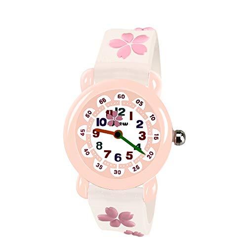 EUTOYZ Spielzeug Mädchen 3-12 Jahre,Mädchenuhren für 4-12 Jährige Geschenke für Mädchen Uhren für 4-12 Jahre alt(style10)