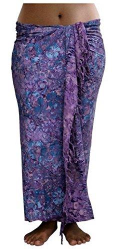 ca.100 Modelle im Shop Sarong Strandtuch Pareo Wickelrock blau lila violet Sar59