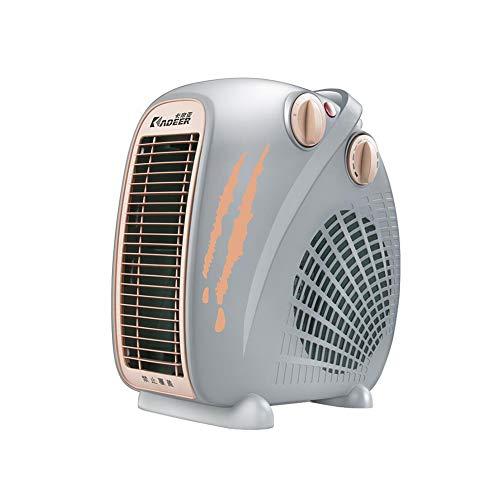 Électrique Chaufferettes Appartement Droit Portable Ventilateur 2 Chaleur Réglages Cool Air Réglage Petit Pièce 2000W (Couleur : 002)