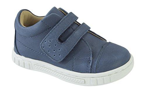 MOVE Kinderschuh Jungen Sneaker, Chaussures Marche Mixte Bébé Bleu Marine