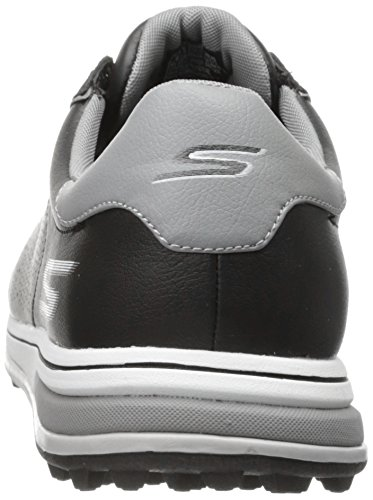 2016 Skechers GO GOLF Drive 2 Leather Mens Golf Shoes-Waterproof Black/White 7.5UK