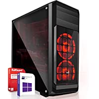 AMD Ryzen 5 2600 6x3.4GHz|ASUS Board|16GB DDR4|512GB SSD|Nvidia GTX 1660 6GB 4K HDMI|Ohne DVD-RW|USB 3.1|SATA3|Windows 10 Pro|3 Jahre Garantie|Gaming PC