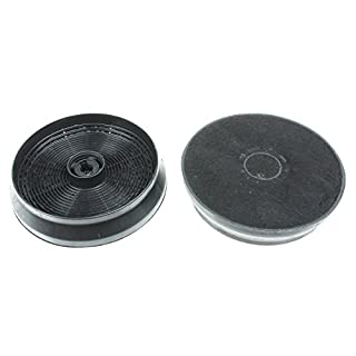 First4Spares Carbon Charcoal Filter for Most Hotpoint, Indesit, Stoves, New World, Beko & Belling Cooker Hood/Extractor Vent (Pack of 2)