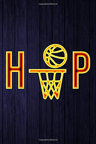 HP: Basketball Hoop Yellow Write in Notebook Journal