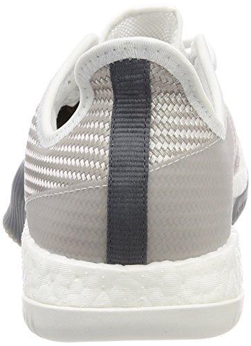 adidas Crazytrain Elite M, Scarpe da Ginnastica Uomo Multicolore (Chalk Pearl S18/Crystal White S16/Scarlet)