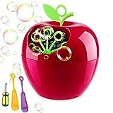 Best Bubble Machine For Kids - QINUKER Bubble Machine for Kids Parties, Automatic Portable Review
