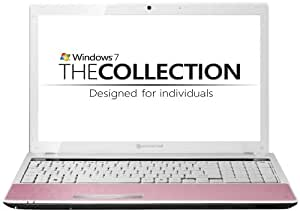 Packard Bell Easynote TM05-GU-011 15.6inch Laptop Pink ( Intel Pentium P6200 Dual Core, 3GB RAM, 250GB HDD, Webcam, Win 7 Premium, 3.5 hour battery)