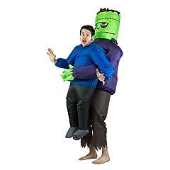 Idea Regalo - Bodysocks® Costume Gonfiabile da Frankenstein per Adulti