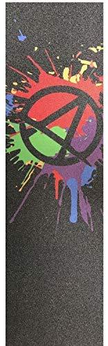 Apex Stunt-Scooter Griptape127 x 540 Splatter + Fantic26 Sticker