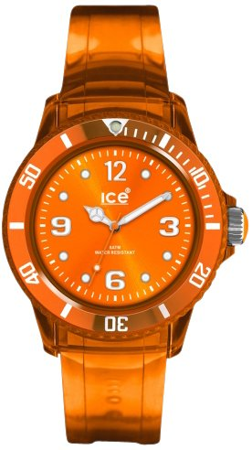 Genuine Ice-Jelly Collection by Ice-Watch new Jelly Straps Unisex Orange JY.OT.U.U.