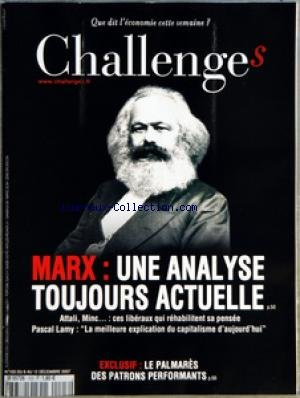 CHALLENGES [No 103] du 06/12/2007 - AVAN...