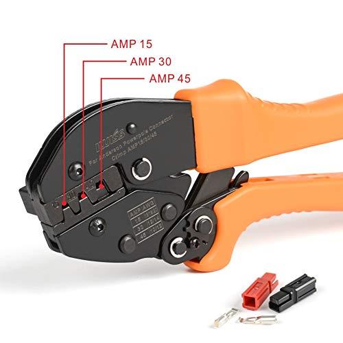 Zoom IMG-3 iwiss ratchet wire crimper tools