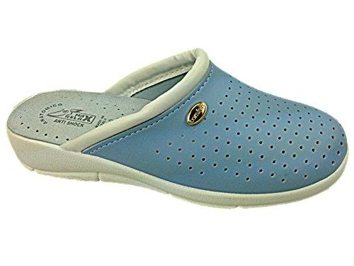 Foster Footwear - Sandali con Zeppa donna Blue