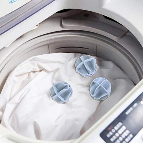 WHFDQJS 2 Teile/los Waschmaschine Wäschekugeln Trockner Stoff -