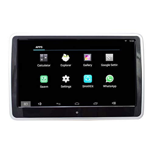 Car Headrest Touch Capacitive Support 1024 x 600P Android Monitor LCD