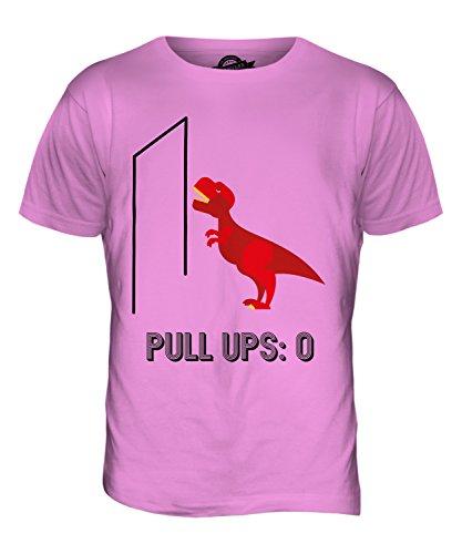 CandyMix T-Rex Pull-Up Herren T Shirt Rosa