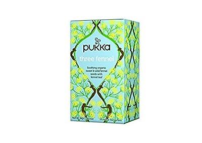 Pukka Thé 3 Fenouils Bio 20 Sachets 36 g - Lot de 2
