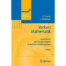 Vorkurs Mathematik: Arbeitsbuch zum Studienbeginn in Bachelor-Studiengängen (EMIL@A-stat)