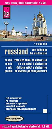 Russland-karte (Reise Know-How Landkarte Russland - vom Baikalsee bis Wladiwostok (1:2.000.000): world mapping project)