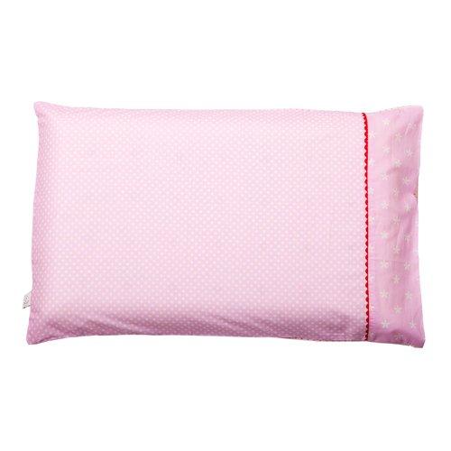 Clevamama ClevaFoam - Funda de almohada para niños pequeños, color rosa