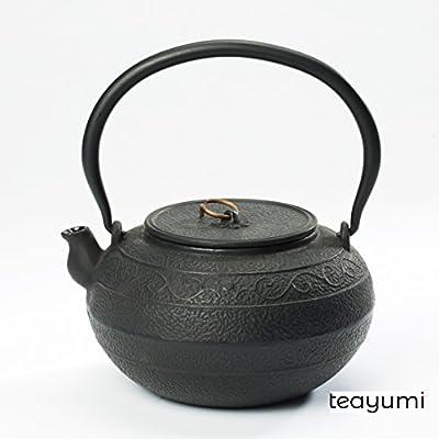 teayumi–okiki Théière en fonte Noir 1,4l