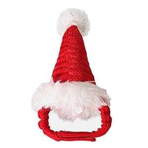 Bonnet pour Chat Chapeau de Chapeau de Noël de chiot de chat pour l'accessoire de costume de vacances d'Halloween d'animal familier®Beetest