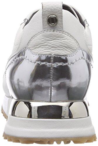 Laurèl Sneaker, Baskets Basses femme Blanc - Weiß (Mehrfarbig2120)