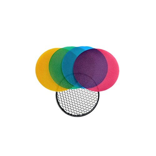 quadralite verschieben Flash Color Grid Reflector Kit, 120 mm Grid Reflector Kit