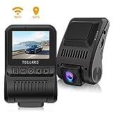 TOGUARD Dash Cam 4 K WiFi GPS UHD Armaturenbrett Kamera für Auto 5,1 cm 170° Weitwinkel Dashcam mit Loop-Aufnahme Parkmonitor
