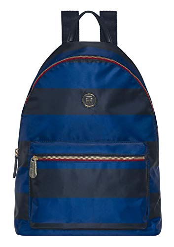 Tommy Hilfiger Poppy Backpack Print Rugby Stripe