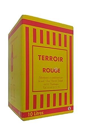 TERROIR CATALAN - Vin Rouge - IGP Côtes Catalanes - Fontaine à Vin de 10 Litres. - 12% Vol.