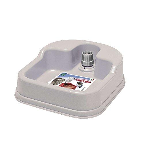 Drinkspenser distributore per acqua per cani e gatti bottiglia non inclusa d. 23x20x6h