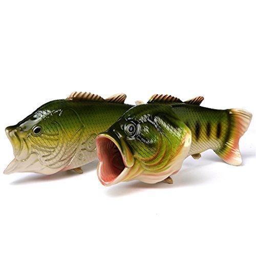 UniqStore Sandalen Tricky Fisch Hausschuhe Kreative Fisch Stil Strand Schuhe Simulation Fisch Strand Hausschuhe Herren - 4