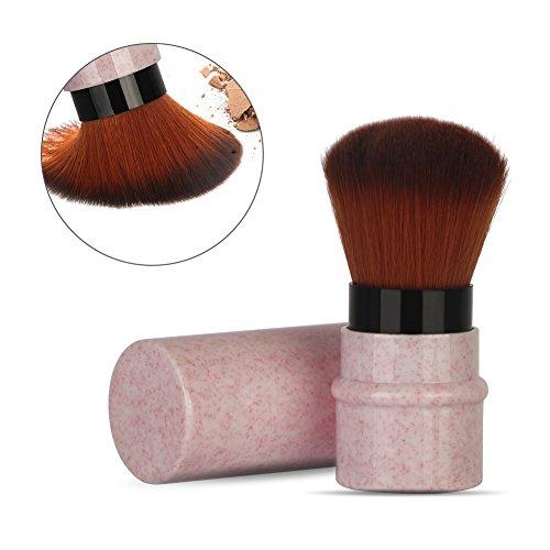 Make up Pinsel, Erröten Pinsel, Kurze Marmorierung Makeup Foundation Brush Dehnbar Griff Rouge...