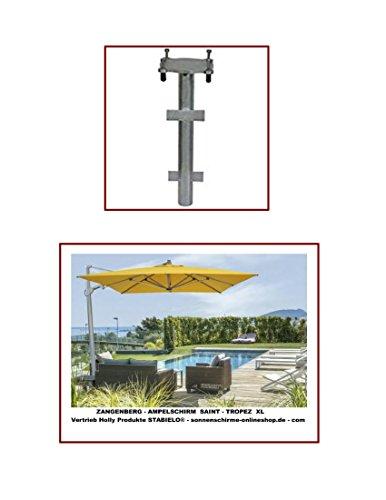 SAINT - TROPEX XL + M - ERDROHR PREMIUM - UND FÜR ZANGENGERG AMPELSCHIRME - MONACO - MONTE CARLO - GRENADA - JAMAICA - DAS ERDROHR PREMIUM - ebenerdiger Einbau - VERTRIEB HOLLY PRODUKTE STABIELO - holly mobiler Sonnenschutz-mobile sunshade holly ® -