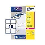 Avery QuickPEEL Etichette per indirizzi 40 fogli White