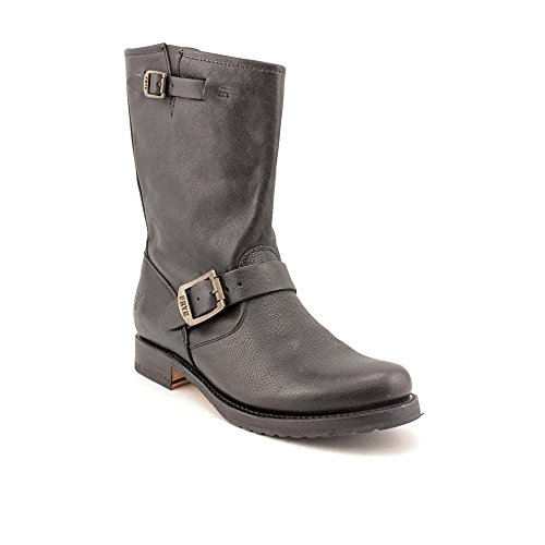 Frye Veronica Shortie Cuir Botte Black
