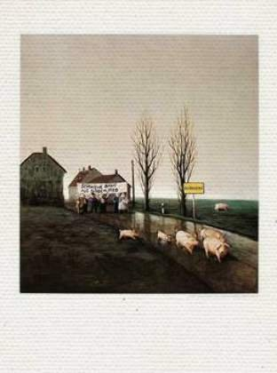 Toile sur Chassis: Michael Sowa,