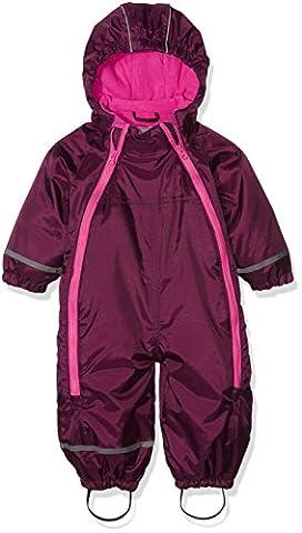 CareTec Baby-Mädchen Schneeanzug , Rot (Grape Wine 6315), 92
