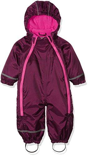 CareTec Baby-Mädchen Schneeanzug , Rot (Grape Wine 6315), 98