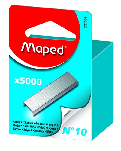 MAPED - 5000 Agrafes Nº 10, Zinguées