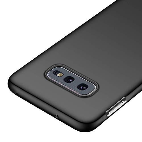 Richgle Cover Samsung Galaxy S10e, Nero Ultra Sottile Custodia Cover Protettiva in Plastica Case per Samsung Galaxy S10 E (5.8') RG00306