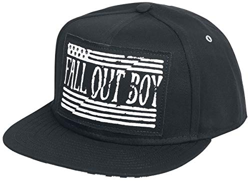 Fall Out Boy Logo Cap schwarz Fall Out Boy-cap