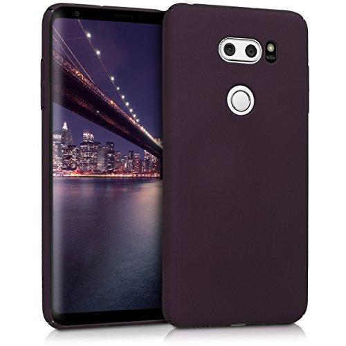 kwmobile LG V30 / V30S / V30+ / V30S+ Hülle - Handy Cover Case Schutzhülle - Backcover Hardcover für LG V30 / V30S / V30+ / V30S+