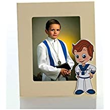 Portafotos madera niño comunión (2,8€ unidad).