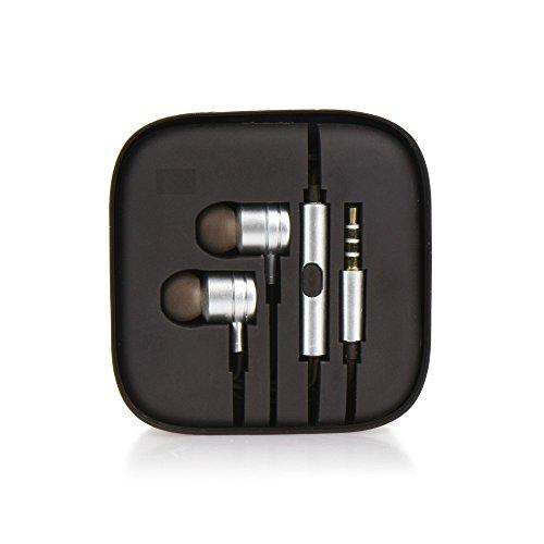 Auricolari Cuffie Earphones universali con microfono per SMARTPHONE SONY XPERIA XZ1 XZ1 COMPACT XZ PREMIUM XZS XA1 PLUS XA1 XA1 ULTRA L1 XZ X COMPACT E5 XA ULTRA X XA Z5 PREMIUM Z5 Z5 COMPACT SILVER